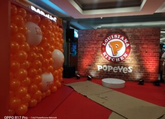 popeyes philippines southmall
